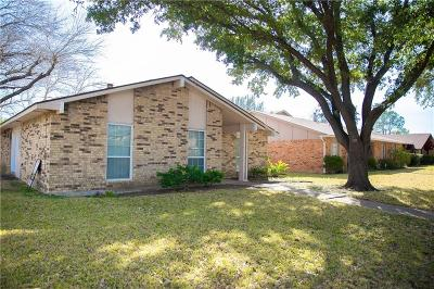 Garland Single Family Home Active Option Contract: 2838 Emberwood Drive