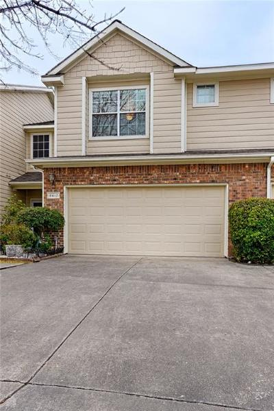 Plano Townhouse For Sale: 8617 Brunswick Drive