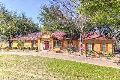 Granbury Single Family Home Active Option Contract: 8026 Ravenswood Road