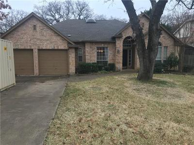 Grapevine Single Family Home Active Option Contract: 2815 Stonehurst Drive