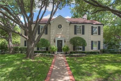 Fort Worth Single Family Home For Sale: 2813 Alton Road