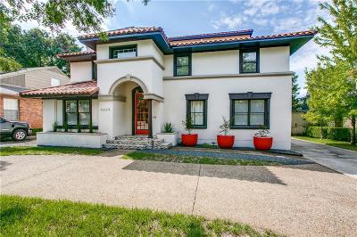 Highland Park, University Park Single Family Home For Sale: 4669 Mockingbird Lane