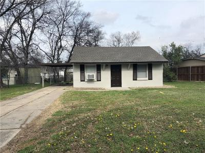 White Settlement Single Family Home Active Option Contract: 564 Joy Drive