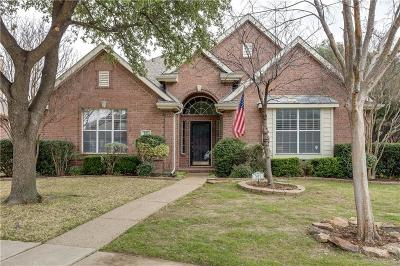 Irving Single Family Home Active Option Contract: 301 Cosbie Drive