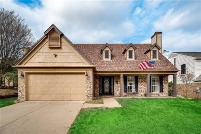 Grapevine Single Family Home Active Option Contract: 512 Arbor Oak Drive