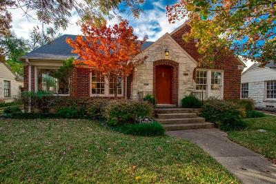 Dallas Single Family Home For Sale: 1910 Marydale Drive