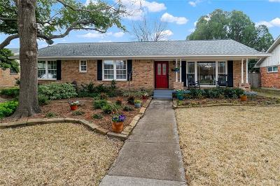 Richardson Single Family Home Active Option Contract: 603 Parkview Lane