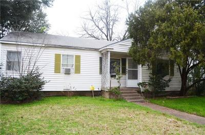 Irving Single Family Home For Sale: 219 Nichols Street