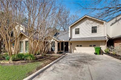 Plano Townhouse For Sale: 2909 Clear Springs Drive