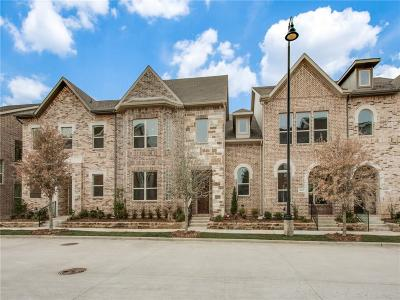 Flower Mound Townhouse For Sale: 4145 Broadway Avenue