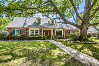 Single Family Home For Sale: 7334 Tophill Lane
