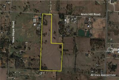 Aubrey Farm & Ranch For Sale: Tbd Arvin Hill