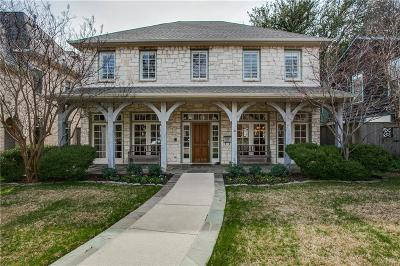 University Park TX Single Family Home For Sale: $1,380,000