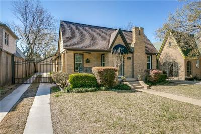 Dallas Single Family Home For Sale: 5818 Vickery Boulevard