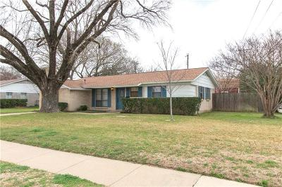 Irving Single Family Home Active Option Contract: 2702 Manion Street