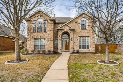 Allen Single Family Home For Sale: 1815 Travis Drive