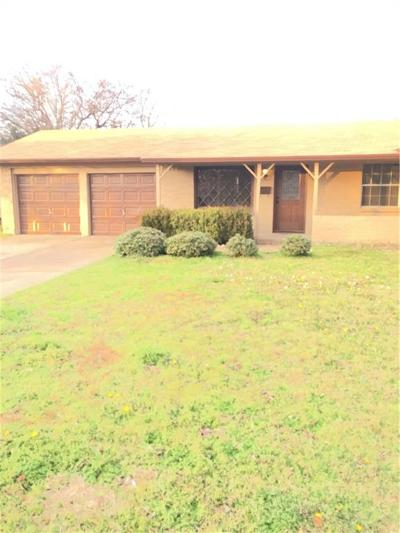 North Richland Hills Single Family Home Active Option Contract: 7429 Maple Drive