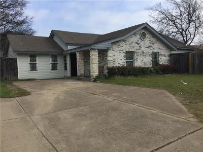 Cedar Hill Single Family Home For Sale: 404 Vincent Street