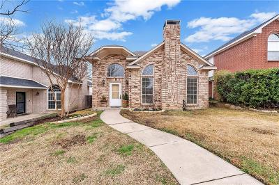 Carrollton Single Family Home Active Option Contract: 1521 Ranchview Lane