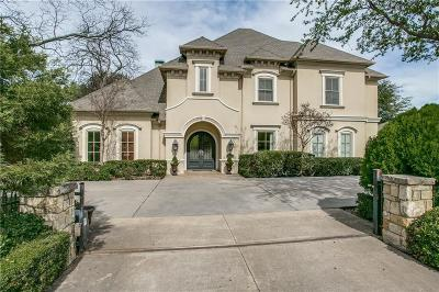 Dallas TX Single Family Home For Sale: $1,295,000