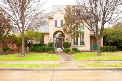 Allen Single Family Home Active Option Contract: 1211 Bridgeway Lane