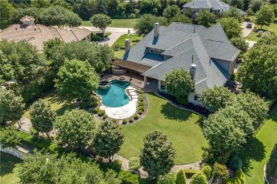 McKinney Single Family Home For Sale: 5600 S Woodcreek Circle