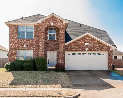 Cedar Hill Single Family Home Active Option Contract: 732 Massey Lane
