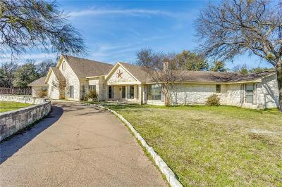 Aledo Single Family Home Active Option Contract: 164 Lake Haven Lane