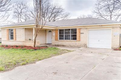 North Richland Hills Single Family Home Active Option Contract: 5125 Roberta Drive
