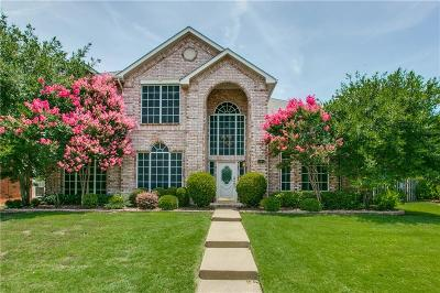 Coppell Single Family Home Active Option Contract: 164 Branchwood Trail