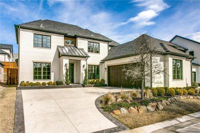 Dallas Single Family Home For Sale: 6655 Green Knoll Drive