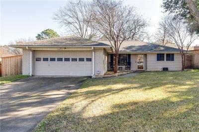 Grapevine Single Family Home Active Option Contract: 832 Yellowstone Drive