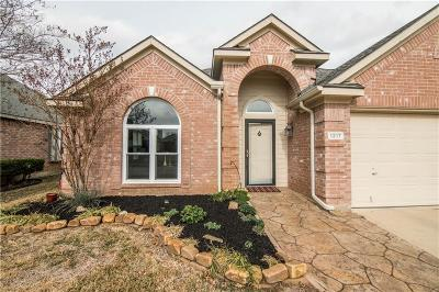 Lewisville Single Family Home Active Option Contract: 1217 Tanner Drive