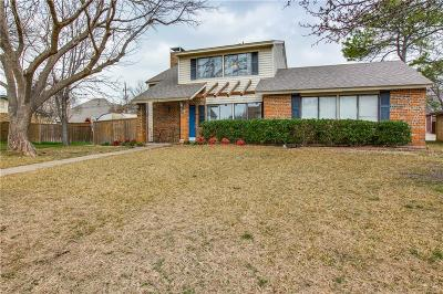 Carrollton Single Family Home Active Option Contract: 1733 Hartford Drive