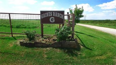 Clay County Farm & Ranch For Sale: 2035 W Gaines Rd