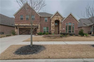 Little Elm Single Family Home For Sale: 821 Dusty Trail