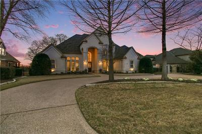 Southlake Single Family Home Active Option Contract: 1214 Strathmore Drive