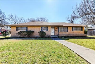 Richardson Single Family Home Active Option Contract: 528 E Polk Street