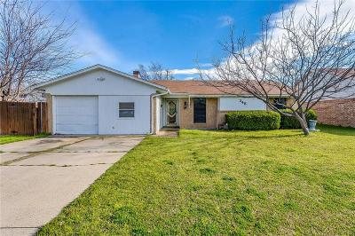 Burleson Single Family Home For Sale: 348 NW Summercrest Boulevard