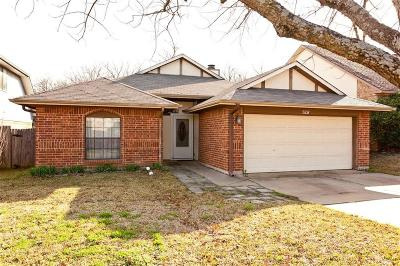 Arlington Single Family Home Active Option Contract: 5108 Foley Drive