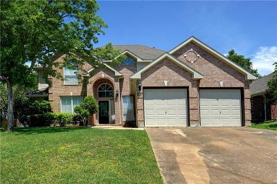 Keller Single Family Home For Sale: 637 Shady Bridge Lane