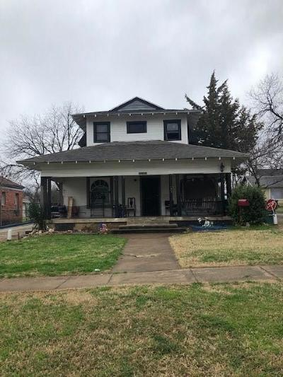 North Fort Worth Single Family Home For Sale: 1813 Homan Avenue