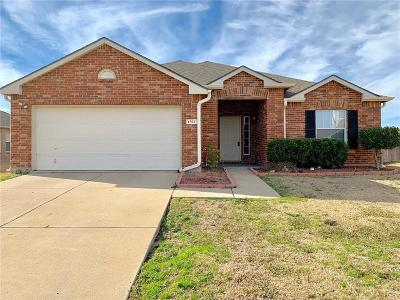 Wylie Single Family Home Active Option Contract: 1502 Abbeville Drive