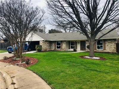 Duncanville Single Family Home Active Option Contract: 607 Wilson Court
