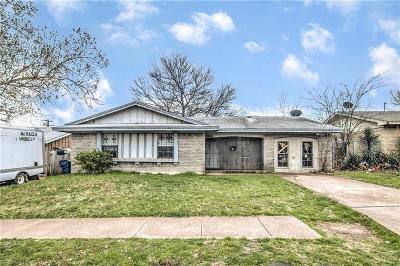 Dallas Single Family Home For Sale: 3462 Tioga