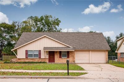Ennis Single Family Home Active Option Contract: 2304 Woodlawn Drive