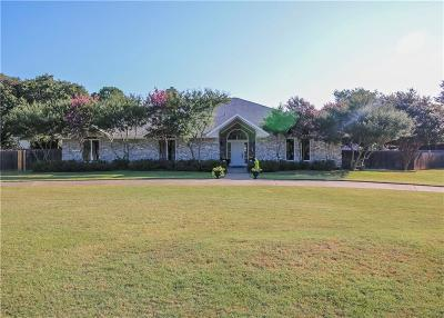Colleyville Single Family Home For Sale: 1800 Renfro Road