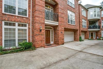 Dallas Townhouse For Sale: 3904 Bowser Avenue