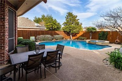 Denton County Single Family Home Active Option Contract: 9740 Plains Circle