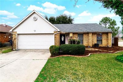 Flower Mound Single Family Home Active Option Contract: 1400 Superior Drive